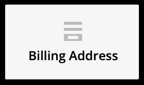 the billing address element