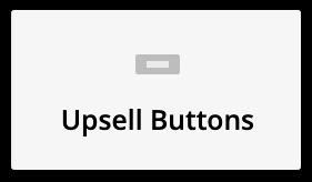 upsell button element