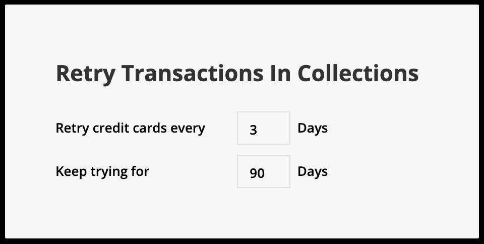 Retry Transactions example